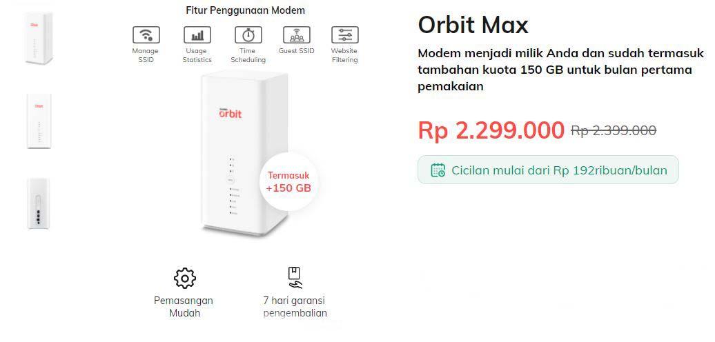 Orbit Max 1